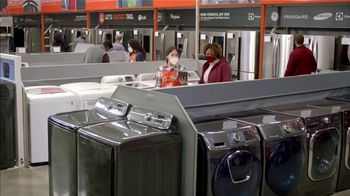 The Home Depot Black Friday Prices TV Spot, 'Holiday Help: LG WashTower' - Thumbnail 1