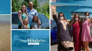 Happy Honda Days Sales Event TV Spot, '20 Days of Black Friday: SUVs' [T2] - Thumbnail 8