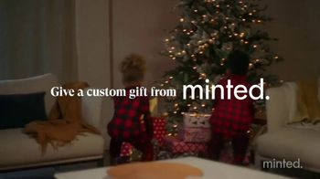 Minted TV Spot, 'Holidays: Luxe Gifts' Song by The TVC, Cass XQ - Thumbnail 1