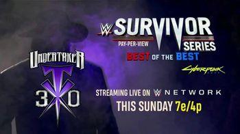 WWE Network TV Spot, '2020 Survivor Series' - Thumbnail 8