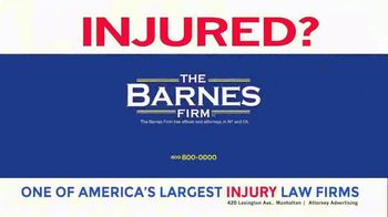 The Barnes Firm TV Spot, 'Very Low' - Thumbnail 8