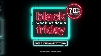 Overstock Black Friday Week of Deals TV Spot, '70% Off' - Thumbnail 1