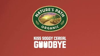 Nature's Path Heritage Flakes TV Spot, 'We Don't Believe in Soggy Cereal' - Thumbnail 9