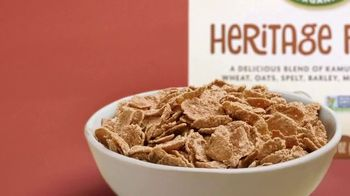 Nature's Path Heritage Flakes TV Spot, 'We Don't Believe in Soggy Cereal' - Thumbnail 3