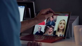 Microsoft Teams TV Spot, 'Takes a Team' Featuring Cris Collinsworth, Nathan Ollie, Fletcher Cox - Thumbnail 3