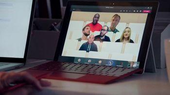 Microsoft Teams TV Spot, 'Takes a Team' Featuring Cris Collinsworth, Nathan Ollie, Fletcher Cox - Thumbnail 4