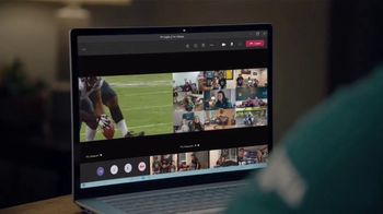 Microsoft Teams TV Spot, 'Takes a Team' Featuring Cris Collinsworth, Nathan Ollie, Fletcher Cox - Thumbnail 8