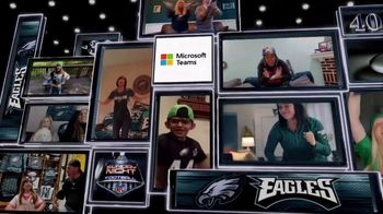 Microsoft Teams TV Spot, 'Takes a Team' Featuring Nathan Ollie and Fletcher Cox - Thumbnail 9