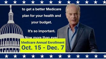 Coverance Insurance Solutions, Inc. TV Spot, 'Medicare Annual Election' Featuring Kelsey Grammer