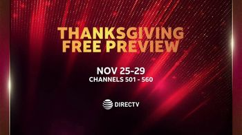 DIRECTV TV Spot, 'Thanksgiving Free Preview: Holiday Weekend' - Thumbnail 6