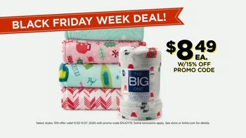 Kohl's Black Friday Week Deals TV Spot, 'Blankets, Appliances and Fitbits' - Thumbnail 5