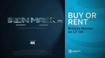 DIRECTV Cinema TV Spot, 'Iron Mask' - Thumbnail 10