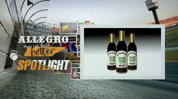 Allegro Game Tame Marinade TV Spot, 'Spotlight: Victories Are Sweet'