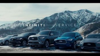 Infiniti Winter Event TV Spot, 'Infiniti Now: Test Drive' Song by Lewis Del Mar [T2] - Thumbnail 8