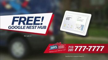 ARS Rescue Rooter $69 Heating Tune-Up Special TV Spot, 'Free Google Nest Hub' - Thumbnail 7
