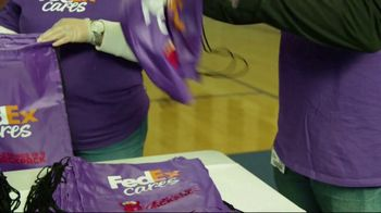 FedEx TV Spot, 'Blessings in a Backpack' Featuring Josh Jacobs - Thumbnail 1