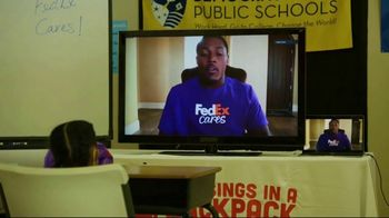 FedEx TV Spot, 'Blessings in a Backpack' Featuring Josh Jacobs - Thumbnail 10