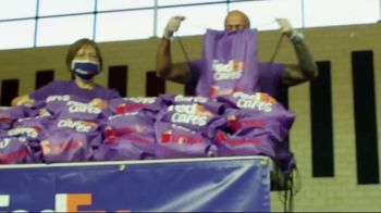 FedEx TV Spot, 'Blessings in a Backpack' Featuring Josh Jacobs - Thumbnail 3