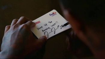 FedEx TV Spot, 'Blessings in a Backpack' Featuring Josh Jacobs - Thumbnail 5