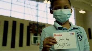 FedEx TV Spot, 'Blessings in a Backpack' Featuring Josh Jacobs - Thumbnail 6