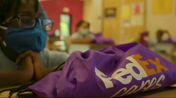 FedEx TV Spot, 'Blessings in a Backpack' Featuring Josh Jacobs - Thumbnail 9