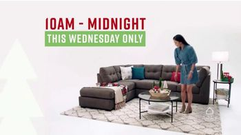Ashley HomeStore TV Spot, 'Wednesday Savings: 40% Off Storewide'