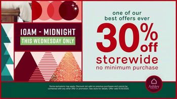 Ashley HomeStore TV Spot, 'Wednesday Savings: 40% Off Storewide' - Thumbnail 4