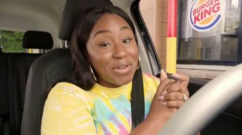 Burger King 2 for $5 Mix n' Match TV Spot, 'Drive Thru: $1 Delivery, $5 Minimum' Feat. Daym Drops - Thumbnail 5