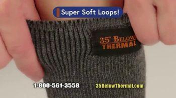 35 Degrees Below Socks TV Spot, 'Secret to Keeping Feet Warm: Bonus Third Pair' - Thumbnail 4