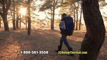 35 Degrees Below Socks TV Spot, 'Secret to Keeping Feet Warm: Bonus Third Pair' - Thumbnail 6