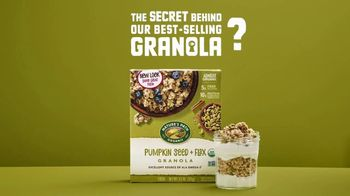 Nature's Path Pumpkin Seed + Flax Granola TV Spot, 'The Secret Behind Our Best-Selling Granola'