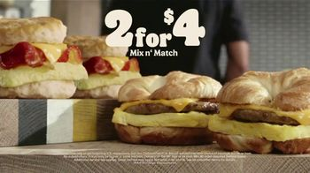 Burger King 2 for $4 Mix n' Match TV Spot, 'Worth Waking Up For: $1 Delivery, $5 Minimum: Bacon' - Thumbnail 8