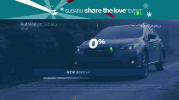AutoNation Subaru Share the Love Event TV Spot, 'The New Year Starts Now: No Payments for 90 Days' - Thumbnail 4