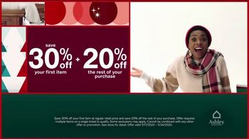 Ashley HomeStore Black Friday Deal Days TV Spot, '30% Off Your First Item and 20% Off the Rest' - Thumbnail 5