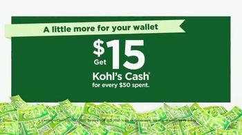 Kohl's Black Friday Week Deals TV Spot, '35% Off Active Brands and Kohl's Cash' - Thumbnail 5