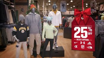 Dick's Sporting Goods Black Friday Deals TV Spot, 'Holidays: Apparel, Fleece, Footwear and Cardio' - Thumbnail 4