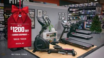 Dick's Sporting Goods Black Friday Deals TV Spot, 'Holidays: Apparel, Fleece, Footwear and Cardio' - Thumbnail 8