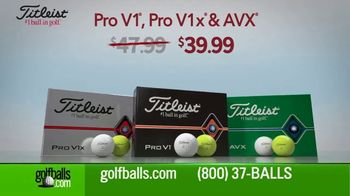 Golfballs.com TV Spot, 'Holidays: Titleist, TaylorMade and Callaway' - Thumbnail 2
