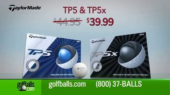 Golfballs.com TV Spot, 'Holidays: Titleist, TaylorMade and Callaway'