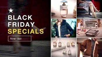 Macy's Black Friday Specials TV Spot, 'Holidays: Top Designers, Beauty, Diamond Earrings' - Thumbnail 2