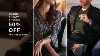 Macy's Black Friday Specials TV Spot, 'Holidays: Top Designers, Beauty, Diamond Earrings' - Thumbnail 4