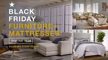 Macy's Black Friday Deals TV Spot, 'Ladlow Sofa, Canyon Queen and Free Adjustable Base' - Thumbnail 1