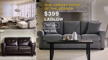 Macy's Black Friday Deals TV Spot, 'Ladlow Sofa, Canyon Queen and Free Adjustable Base' - Thumbnail 2