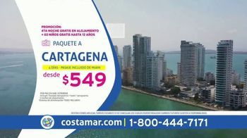 Costamar Travel TV Spot, 'Cartagena, Riviera Maya, Punta Cana, Quito y más' [Spanish]