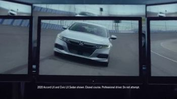 Happy Honda Days Sales Event TV Spot, \'Serious: Accord and Civic\' [T2]