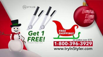Instyler Rotating Iron TV Spot, 'Holidays: Faster Than Ever' - Thumbnail 7