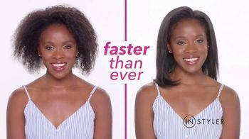 Instyler Rotating Iron TV Spot, 'Holidays: Faster Than Ever'