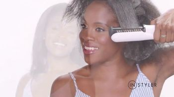 Instyler Rotating Iron TV Spot, 'Holidays: Faster Than Ever' - Thumbnail 2