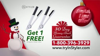 Instyler Rotating Iron TV Spot, 'Holidays: Faster Than Ever' - Thumbnail 6