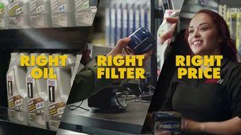 Advance Auto Parts TV Spot, 'Right Oil, Right Filter, Right Price'